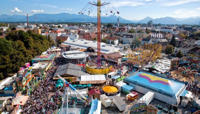[Rosenheim] Mit dem Guten-Tag Ticket zum Herbstfest Rosenheim reisen und bei Vorlage des Tickets in den Festbüros der Auerbräu Festhalle oder dem Flötzinger Festzelt ein Biermarkerl + Ehrenkarte für beliebiges Fahrgeschäft erhalten