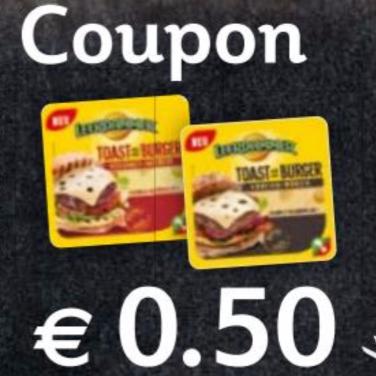 """[Globus] -0,50€ Sofort-Rabatt-Coupon für Leerdammer """"Toast & Burger"""" Schmelzkäse-Scheiben bis 17.09.2017"""