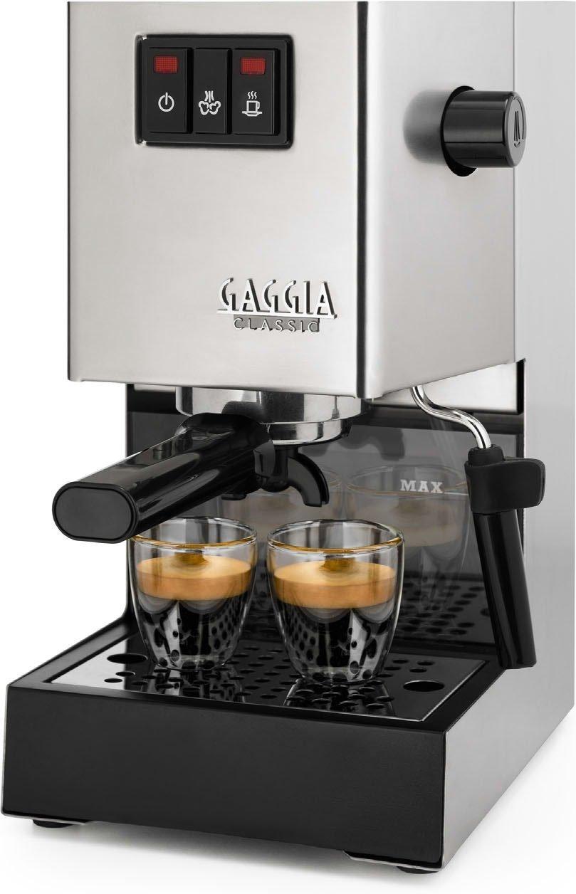Gaggia Classic RI9403/11 Siebträger Espressomaschine für 142,49€ [Amazon.it/Prime]