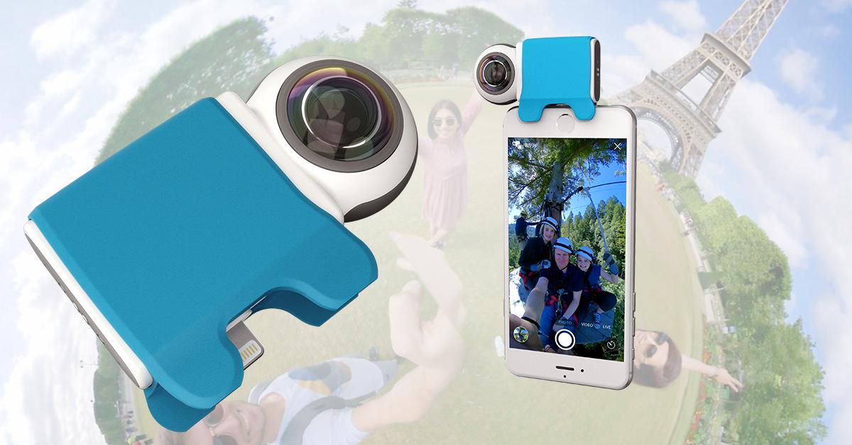 GIROPTIC iO Kamerazubehör 360 ° (CH) - Qoqa