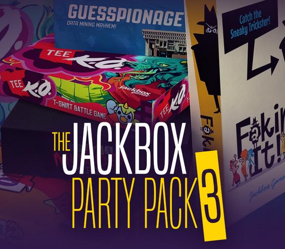 "[Steam] ""The Jackbox Party Pack 3"" für 10$ (@chrono.gg)"