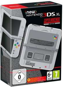 New Nintendo 3DS XL SNES Edition erneut vorbestellbar! [Gamestop/Amazon]