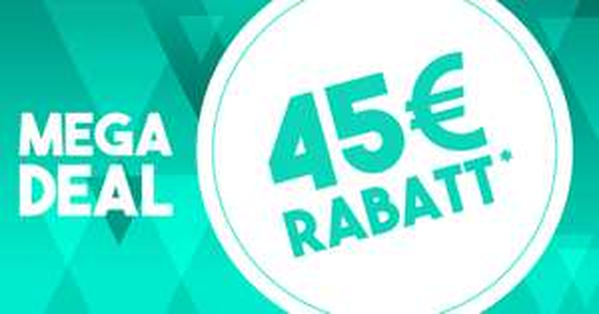45 Euro Rabatt ab 90 Euro Warenwert auf alle Artikel @SC24.com!
