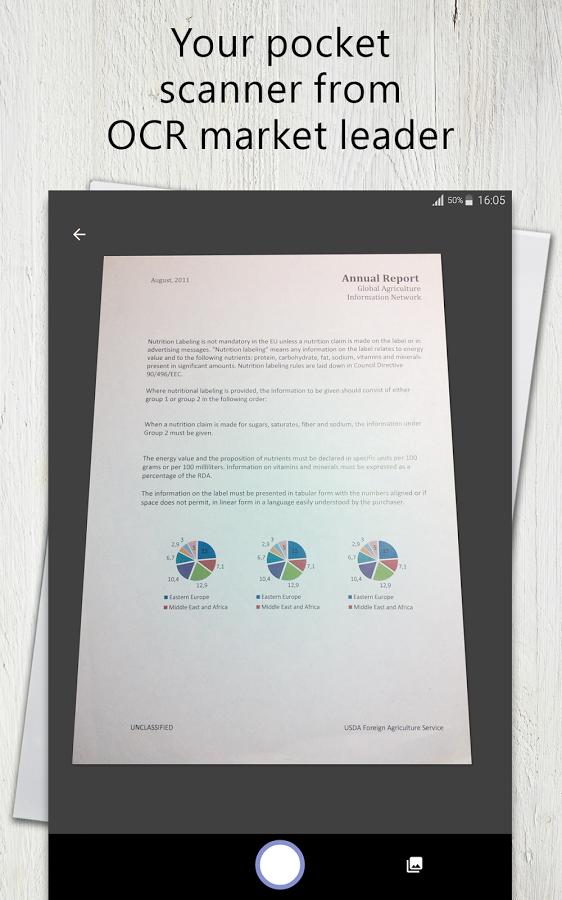 Abbyy FineScanner Pro - PDF Document Scanner App + OCR 5,99 anstatt 59,99 @PlayStore