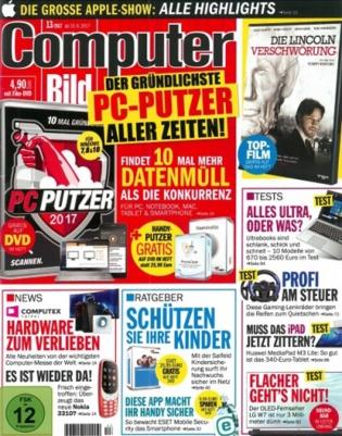 1 Jahr Computer Bild mit DVD, Computer Bild Spiele und 13 andere Titel im ersten Jahr kostenfrei für Neukunden von Presseshop.news als Dankeschön für Abo24 Kunden