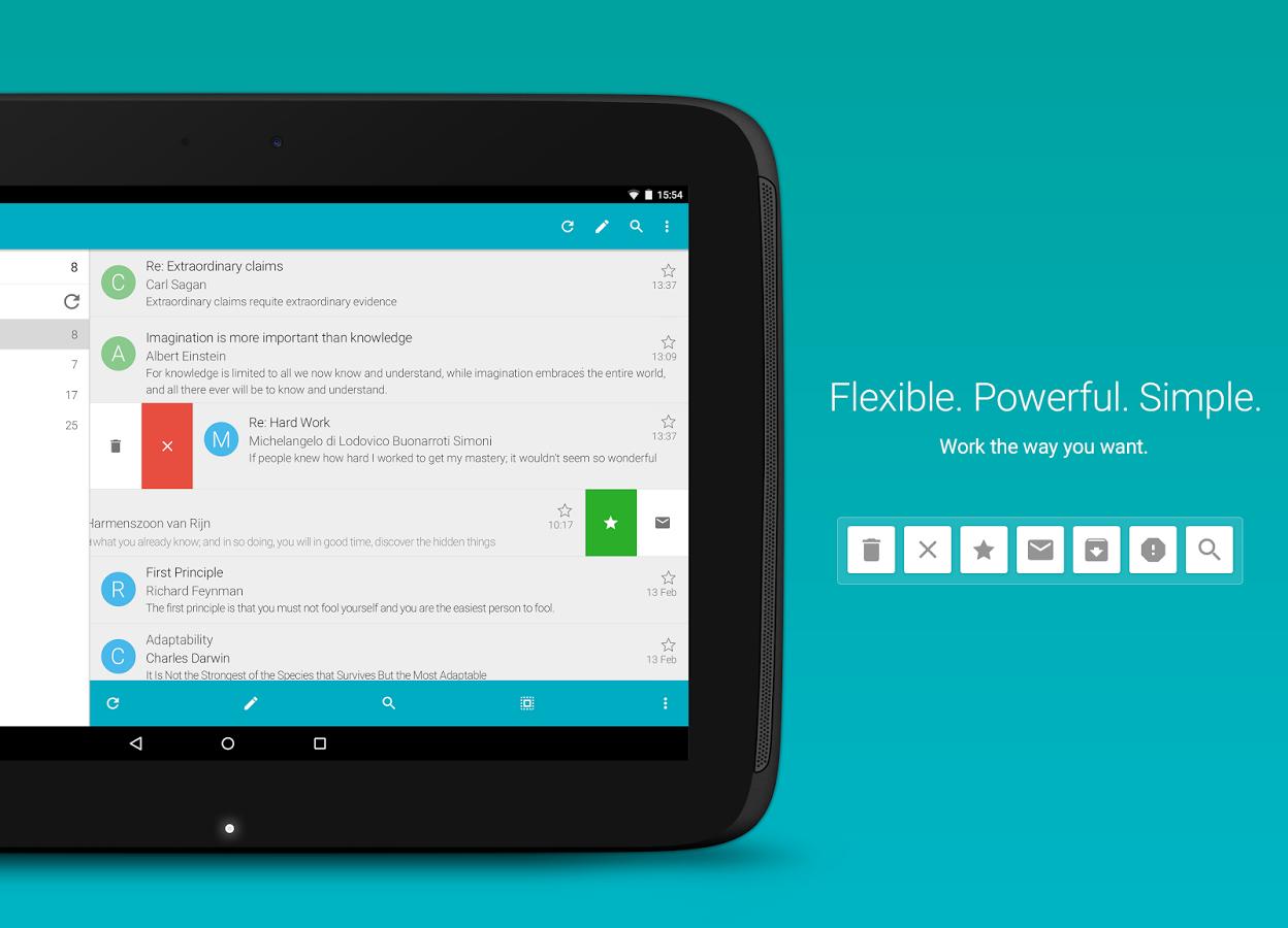 [Android] Aqua Mail Pro Key für 2,49€ [-50%]