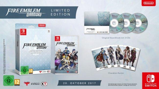 Fire Emblem Warriors Limited Edition (Switch)(Amazon.de)