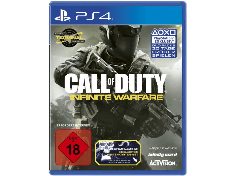 Call of Duty: Infinite Warfare (PS4 / XBO) für 14,99€ & PS+ 12 Monate für 44€ [Saturn]
