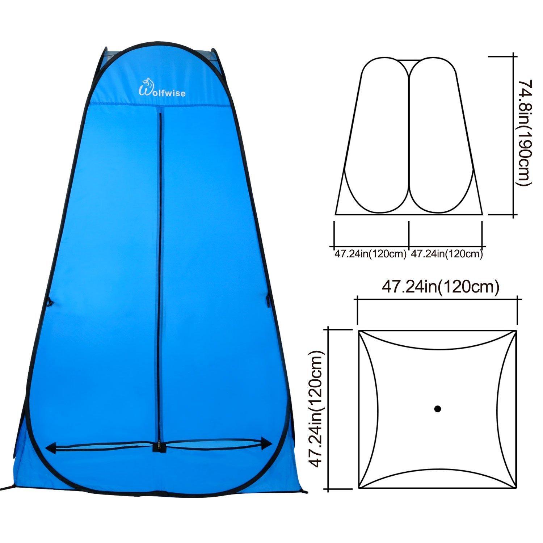 Duschzelt Toilettenzelt, Camping Umkleidezelt *prime