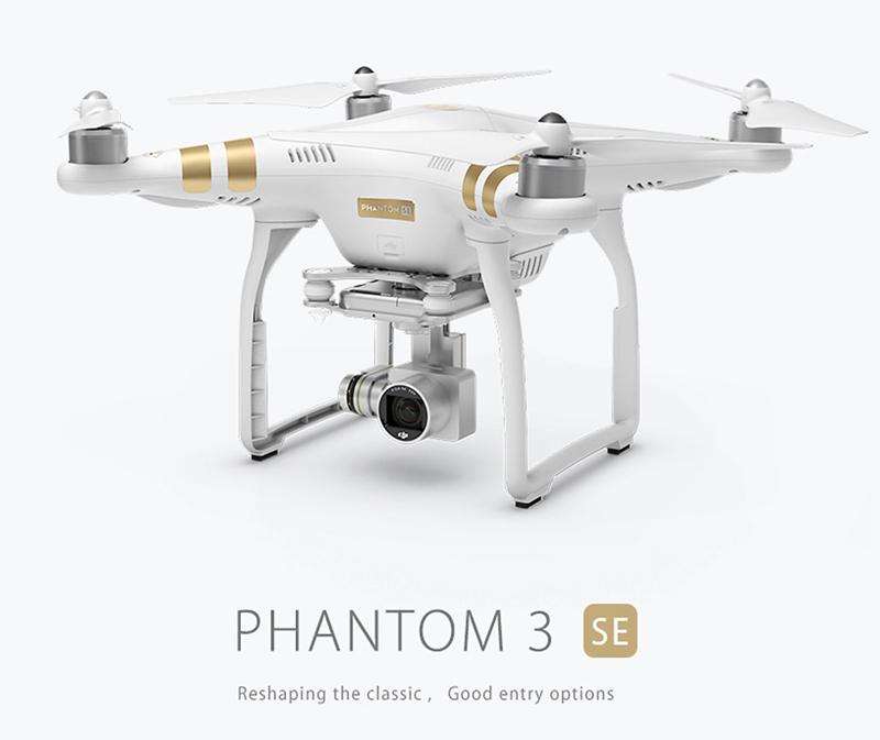 DJI Phantom 3 SE (Special Edition) Quadrocopter / Drohne mit 4K Kamera und VPS
