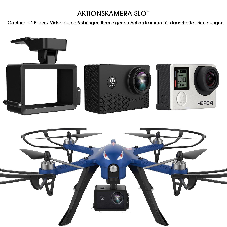 [Amazon] Drocon Bugs 3 Bürstenlose Drohne (Action Kamera Halterung, 1800-mAh Batterie)