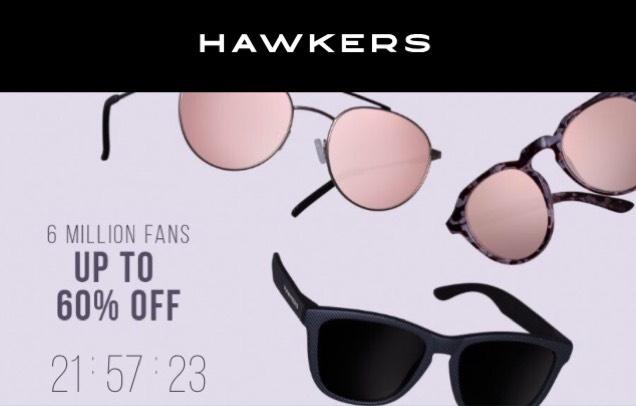 Hawkers Sonnenbrillen bis zu 60% Rabatt