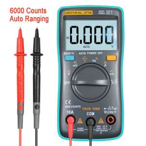 URXTRAL 6000 Counts Auto Ranging Digital Multimeter für 13,59€ [Amazon]