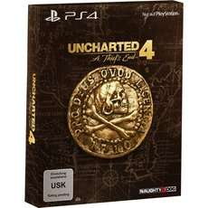 Uncharted 4: A Thief's End, PlayStation 4-Spiel (Special Edition) für 24,99 € inkl. Versand (ZACK ZACK)