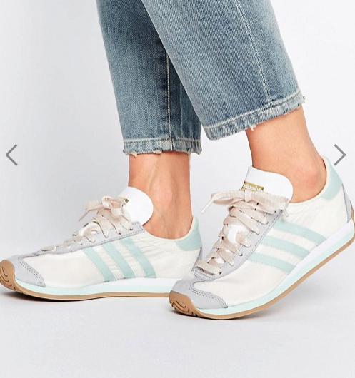 Flash-Sale bei asos mit 50% Rabatt auf 500 Teile, z.B. adidas Country OG Sneaker für 38,49€ statt 50€