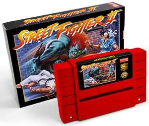 Street Fighter II SNES Legacy Cartridge Limitiert