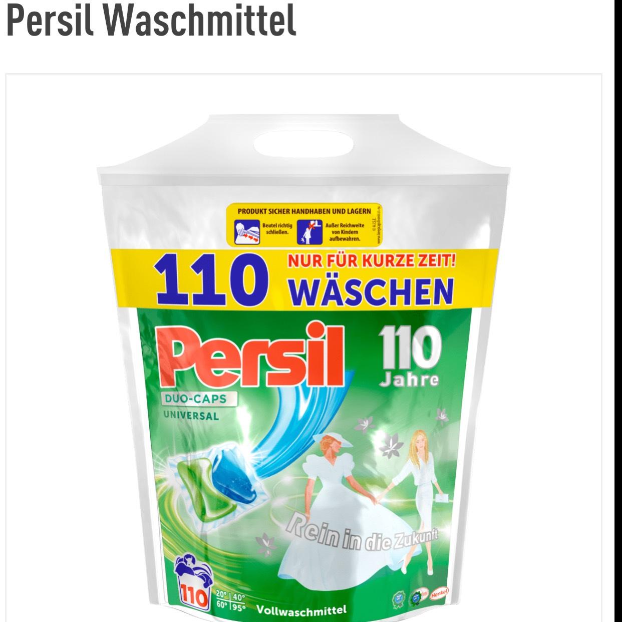 Persil Wasch Caps ( 0,15 € pro Waschladung )
