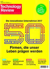 [Heise] 2 Ausgaben TR Technology Review (Print ODER Digital) gratis (Kündigung notwendig)