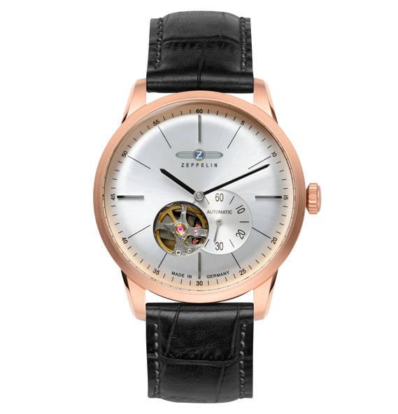 Zeppelin Automatik Uhr - Open Heart (20 Euro Einkaufsgutschein ontop)