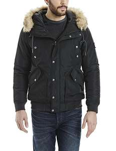 Bench Wrestle Herren Winterjacke S M L XL in Schwarz