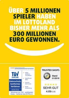 Gratis Tippfeld EuroMillions Ziehung heute von Lottoland