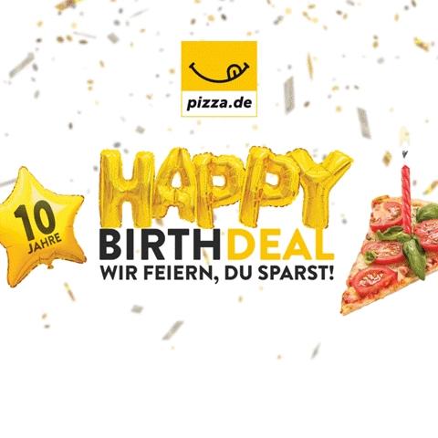 10 Jahre pizza.de: September-Rabatte