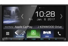 Kenwood DMX7017DABS Autoradio mit DAB+,Android Auto und Apple CarPlay