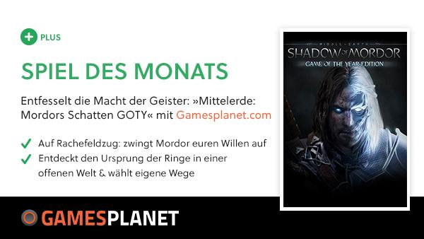 [GameStarPlus-Bonusspiel] Mittelerde: Mordors Schatten GOTY-Edition @ 02.09.2017 (20 Jahre Gamestar)
