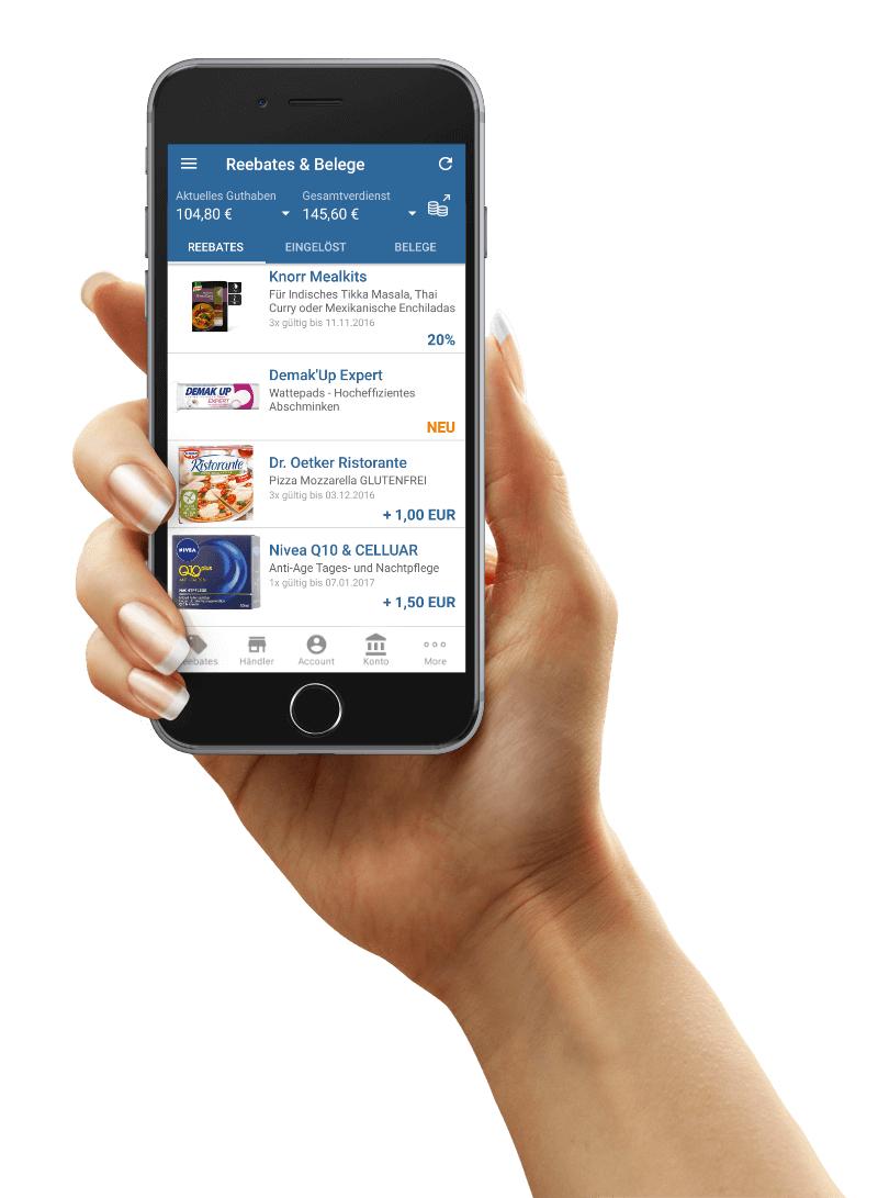 Rama Cremefine Haltbar  kostenlos durch Reebate App