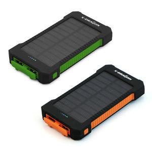 [The Last Four] Dragon-X 20kAh Powerbank mit Solarpanel in orange oder grün @ebay zu 17,09