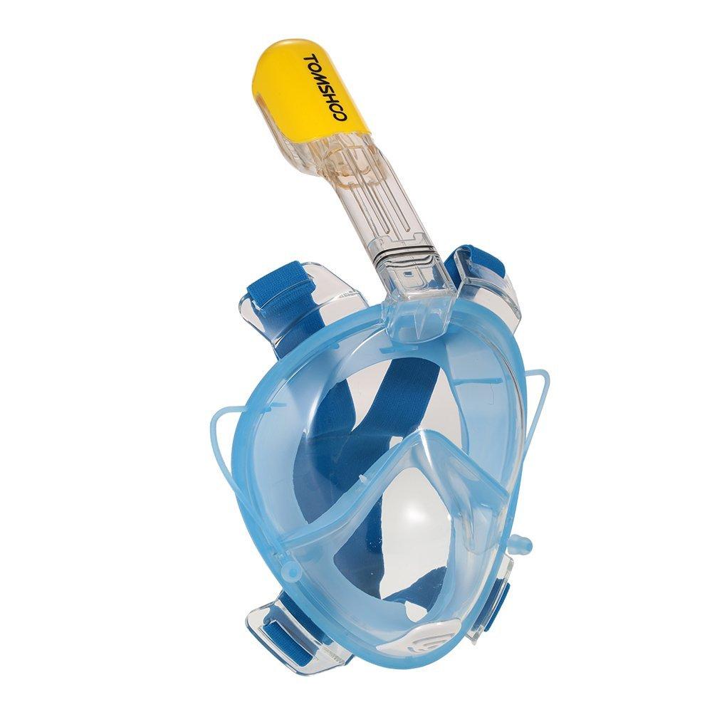 Erwachsene Vollgesichts Atmung Schnorchelmaske , Tauchmaske für 19,99 € statt 24,99 €