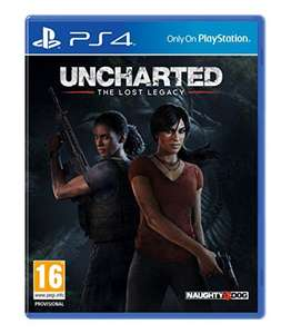 PS4 Uncharted: The Lost Legacy inkl. Deus Ex: Mankind Divided für 40.33 Euro oder Dishonored 2 für 50.41 Euro