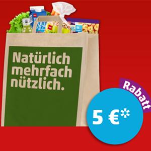 [Penny] 5€ Sofortrabatt ab 40€ Einkaufswert am 15.09.