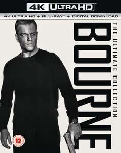 Bourne 4K Collection - alle 5 Filme in UHD (Bluray) im Originalton für 27,29€