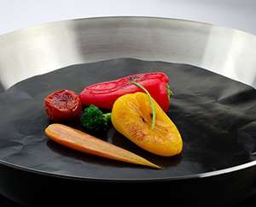Bratfolie von PanMax für Braten ohne fett, gesundes Kochen und eine saubere Pfanne. Diet, Fitness