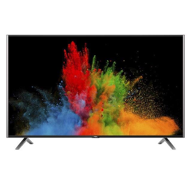TCL 4K Ultra HD LED TV 139 cm (54,6 Zoll) U55S7906 Triple Tuner, SmartTV, Schwarz Bei Real