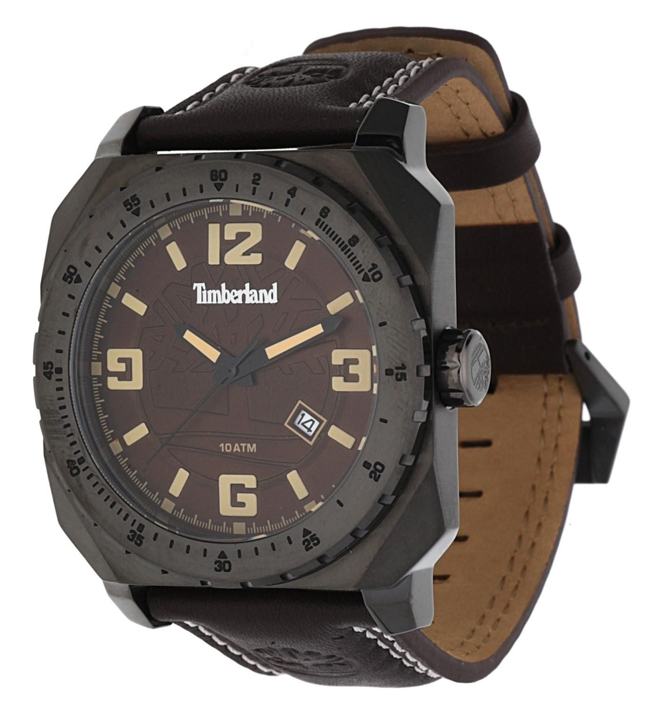 [@zalando lounge] Timberland PINARDVILLE Uhr in braun-anthrazit/braun für 54,90€ inkl. Versand