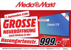 [Media Markt Wiesbaden] SONY KD-65XD7505 LED TV (65 Zoll, UHD, 4K HDR, Android TV, 100Hz nativ)