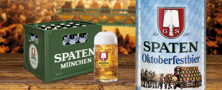 [lokal Oberbayern] Kasten Spaten Oktoberfestbier für 10,99€ @ Orterer Getränkemärkte