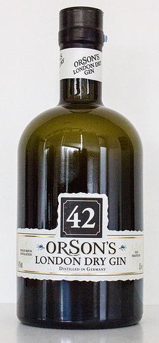 [Penny deutschlandweit + online] 42 Orson's London Dry Gin 4.9.-16.9.