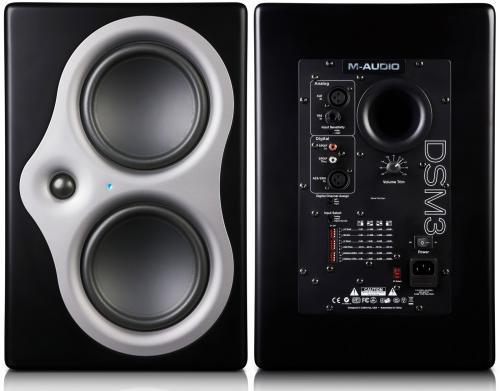 M-Audio Studiophile DSM3 Studioboxen (auch als Hi-Fi Box geeignet)