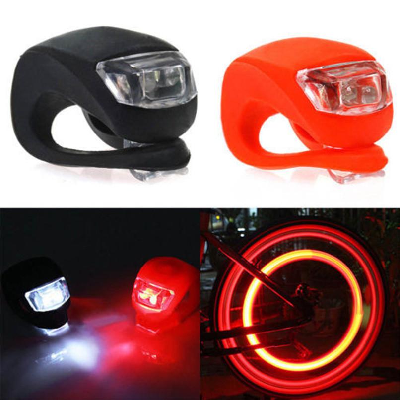 (CN) LED Fahrradlampenset (vorne & hinten) mit 2 LED Dioden für 1,06 @ Aliexpress