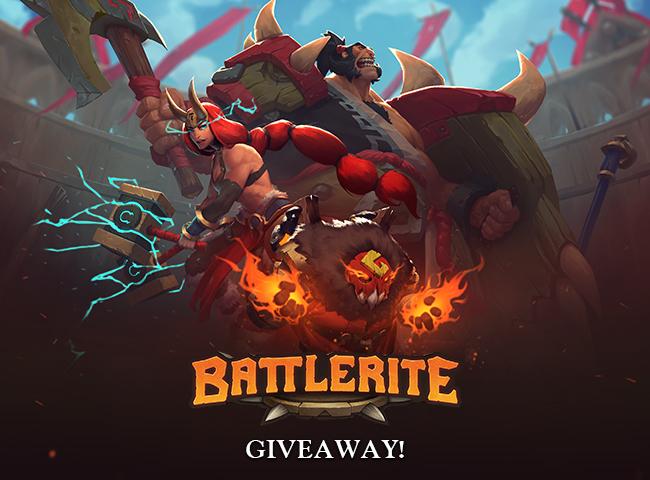 [Steam] Battlerite @gleam.io