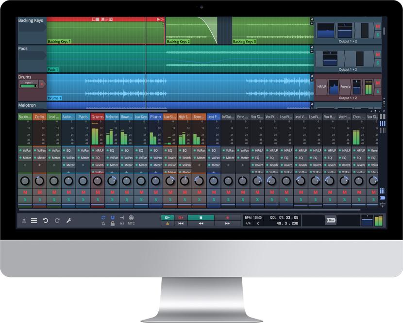 TRACKTION T6 DAW, Audio-Sequencer, für Win/Mac/Linux, jetzt kostenlos