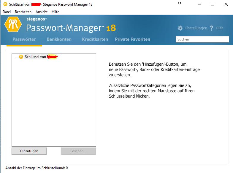 Steganos Password Manager 18 GRATIS statt 9,97 Euro