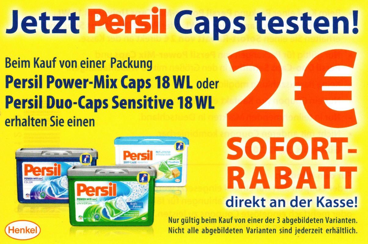 -2,00€ Regal-Coupon für Persil Caps versch. Sorten 18WL