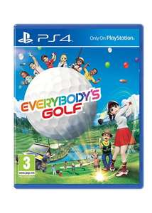 Everybody's Golf (PS4) + DLC aus UK