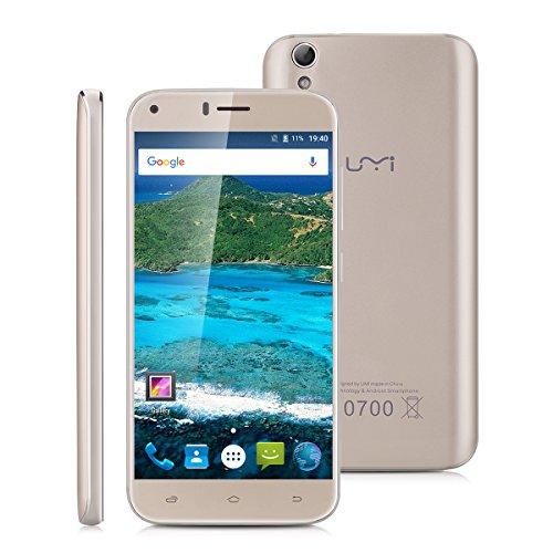 Umidigi Diamond LTE + Dual-SIM (5'' HD IPS, MT6753 Octacore, 3GB RAM, 16GB eMMC, 8MP + 2MP Kamera, inkl. Band 20, 2650mAh, Android 6) für 59,99€ [Amazon MP]