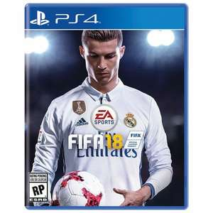 FIFA 18 PS4/ONE [Müller] 49,99€