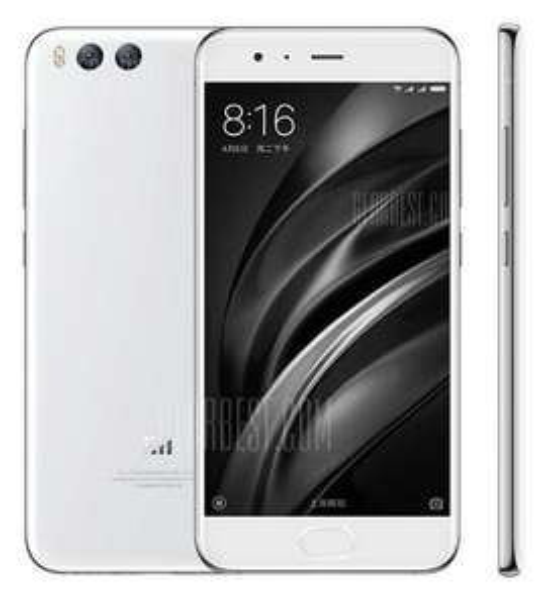 "Xiaomi Mi6, 5,15"" FHD, SD 835, 6/64GB in weiss ohne Band 20"